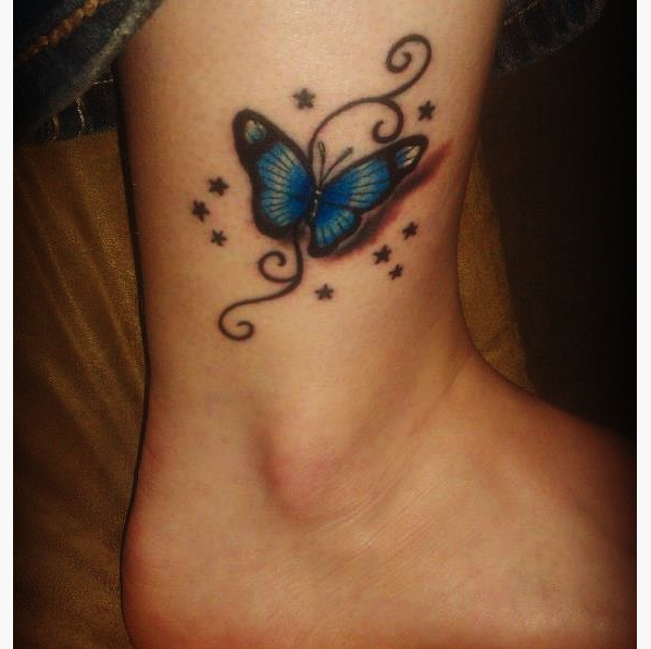 My Tattoo Designs Butterfly Foot Tattoos: 22 Awesome Small Butterfly Tattoo