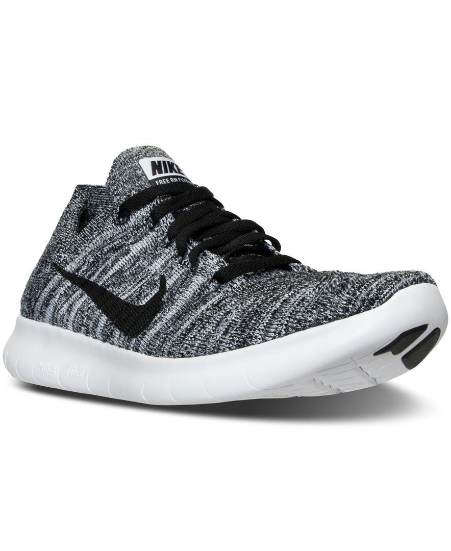 d3231d74ece19 Nike Women s Free Rn Flyknit Running Sneakers from Finish Line ...