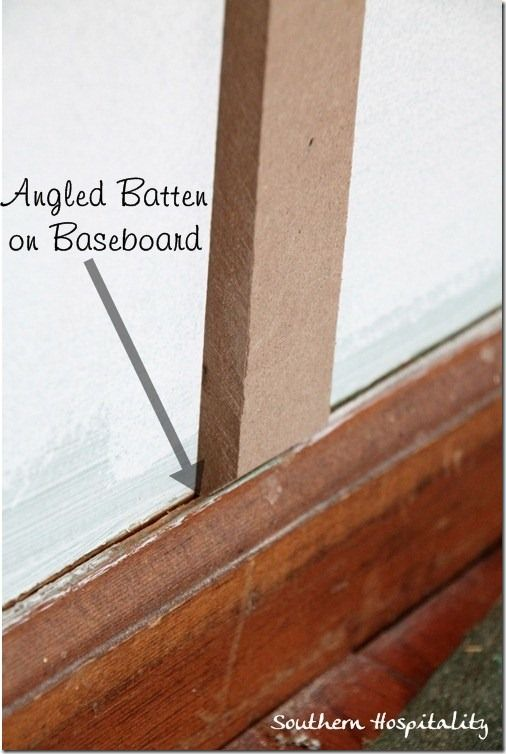 House Updates: Board and Batten & Rockin' My New Nail Gun! $100 Giveaway #boardandbattenwall