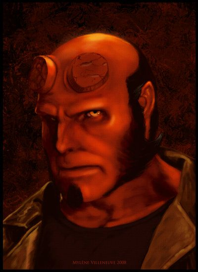 Hellboy by PrincessTigerLili on deviantART