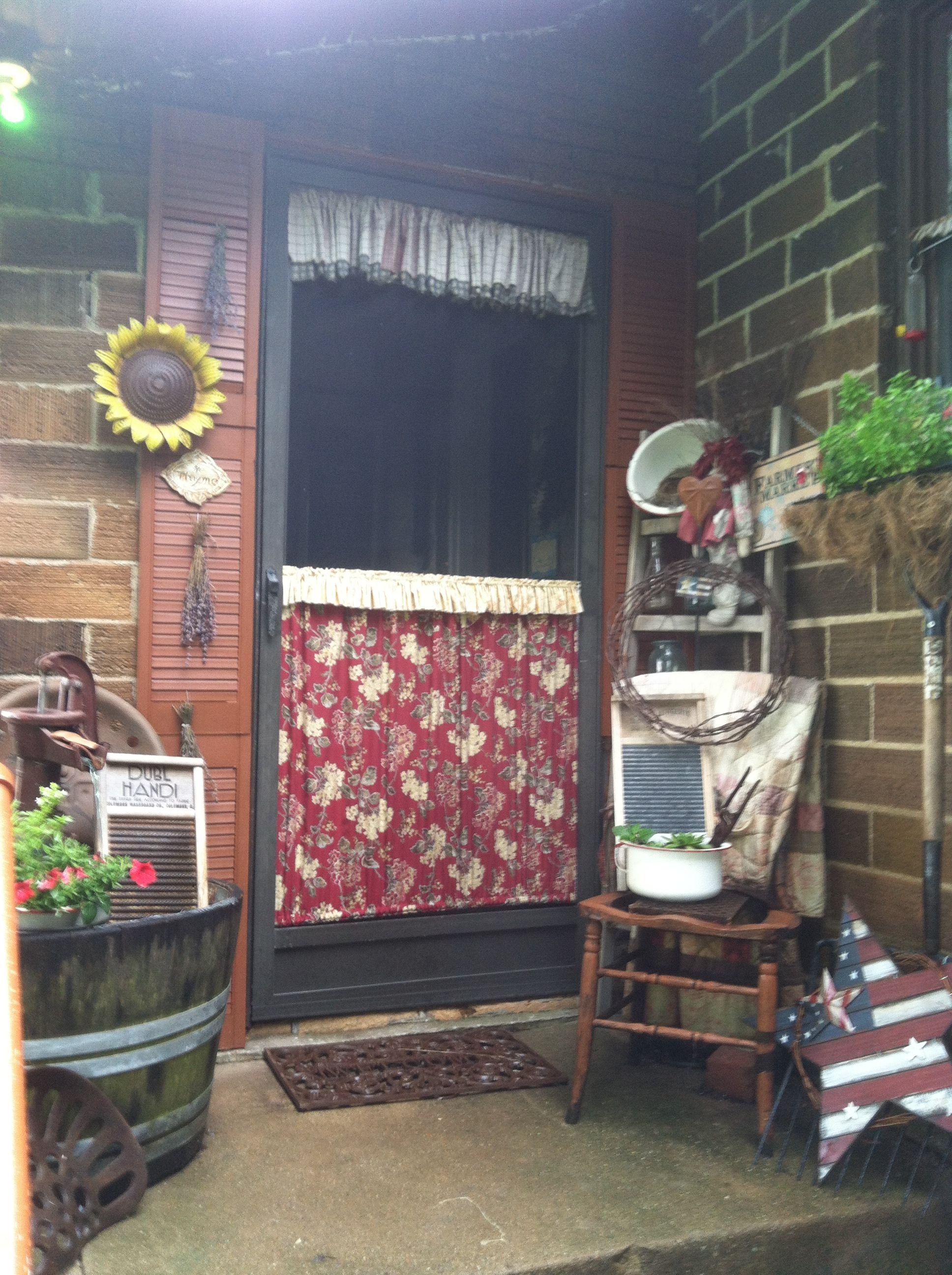 Country Back Door My Garden Pinterest Doors And Gardens