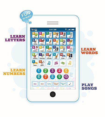 Learning Pad Fun Phone With  Toddler Learning Games By Boxiki