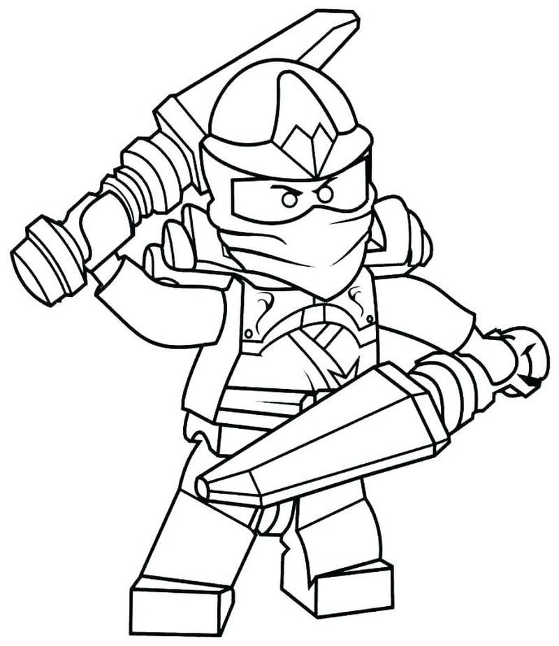 Clumsy Ninja Coloring Pages Ninjago Coloring Pages Lego Coloring Pages Lego Movie Coloring Pages