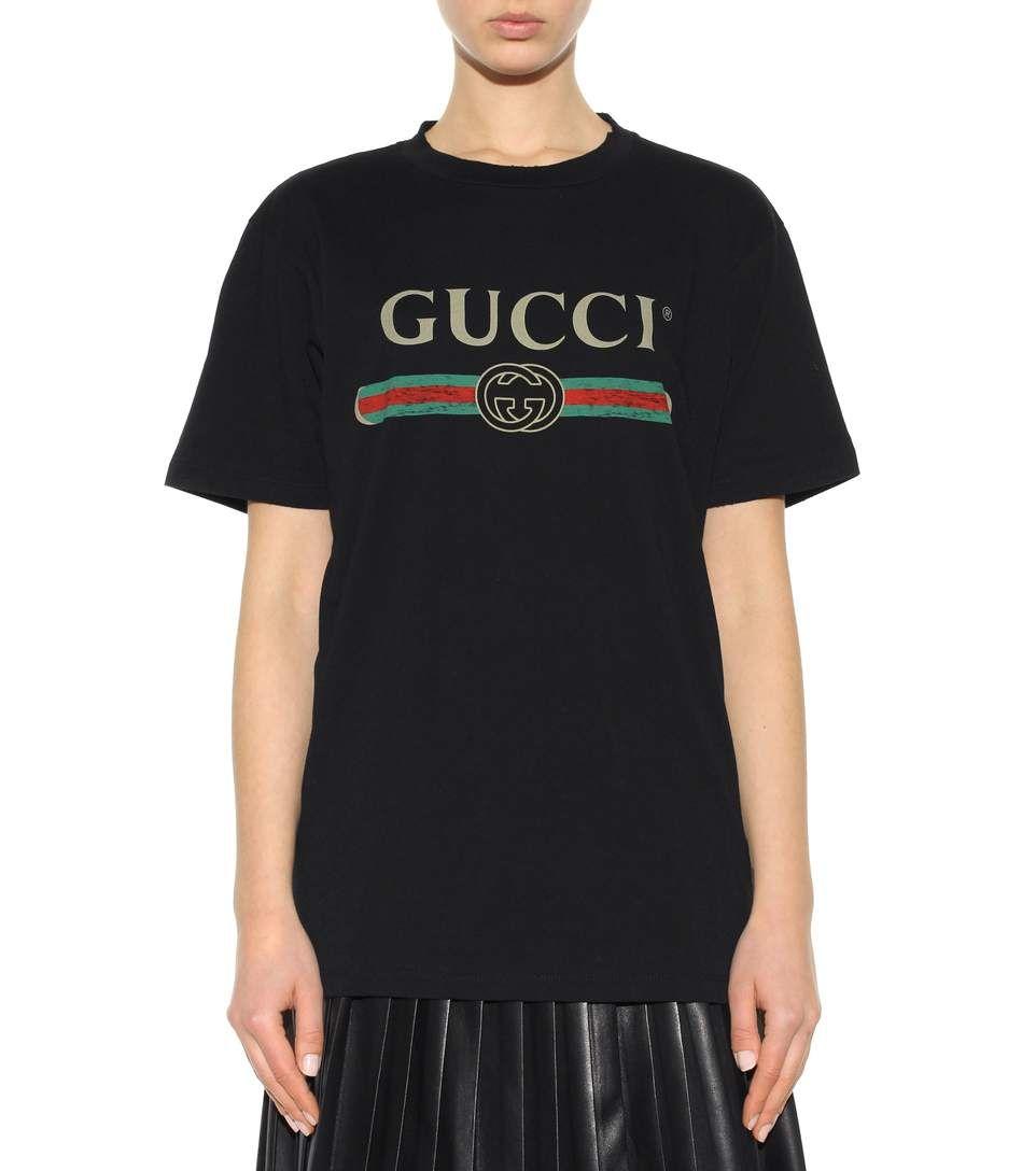Fashion · mytheresa.com - Printed Cotton T-Shirt » ...