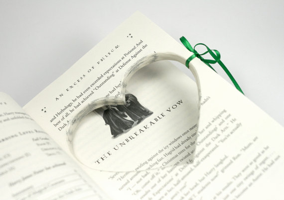 Engagement Proposal Ring Book Harry Potter Half Blood Prince Hollow