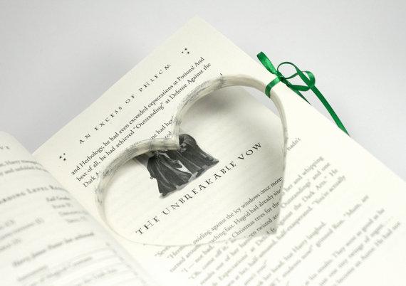 Engagement Proposal Ring Book Harry Potter Half Blood Prince