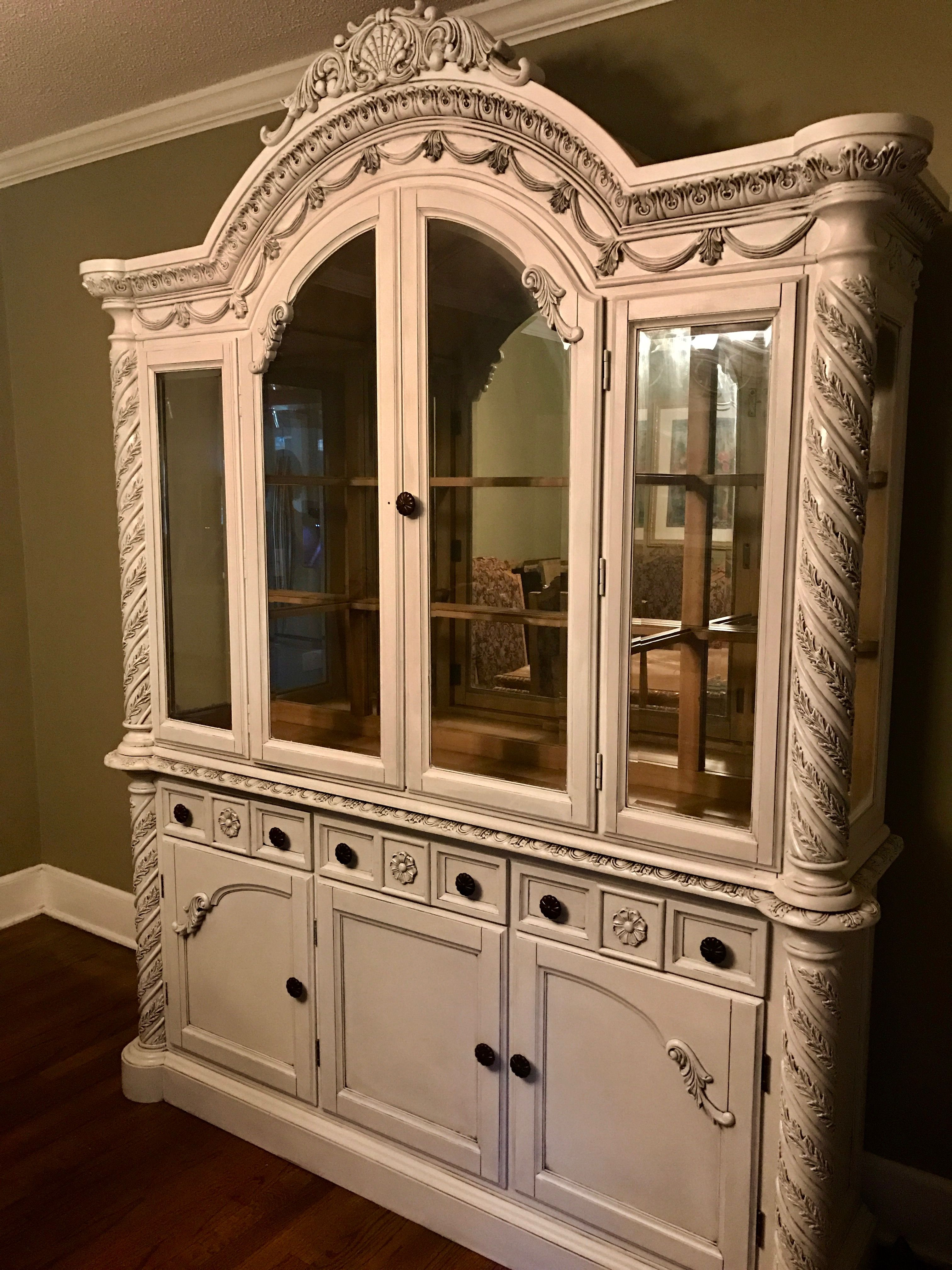 Salvage this stunning cabinet with Vintage Market antique ...