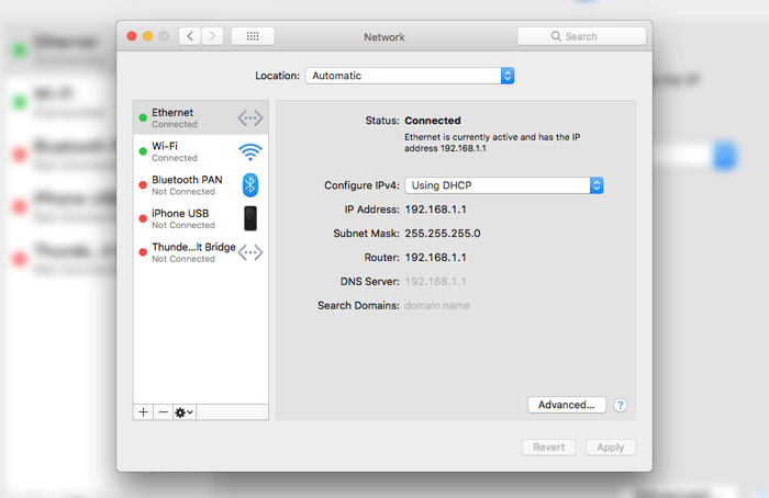 Self Assigned Ip Address Mac