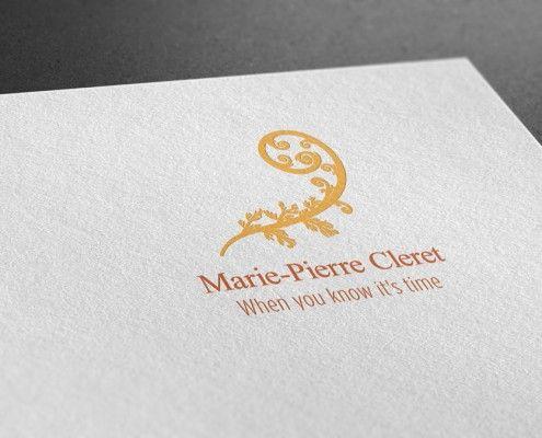 Marie Pierre Cleret - Logo Design- Castle Design