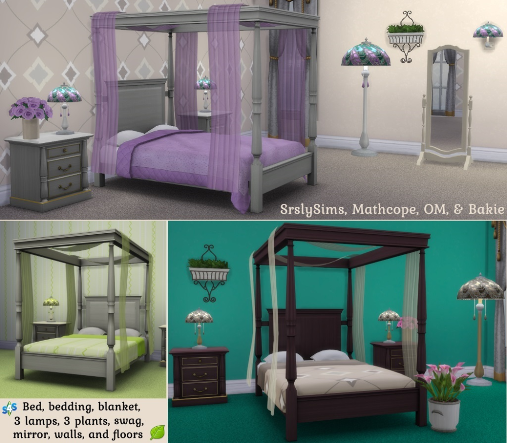 Pin by Chloewhybrow on Sims cc furniture Sims 4 bedroom