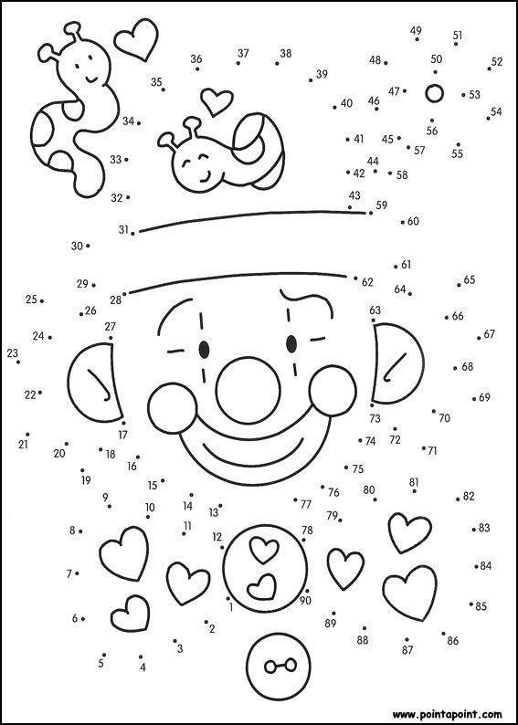 Fichas para unir puntos y formar o completar dibujos Esencial
