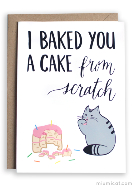 Funny Cat Birthday Card Stampin Up! & Card Ideas