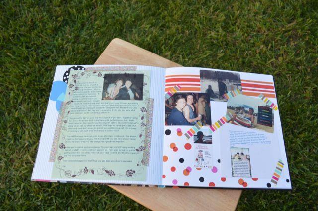 A Book Of Memories For A Milestone Birthday Newlywoodwards Birthday Scrapbook Birthday Photo Album Birthday Book