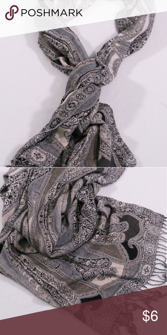 Persian Print Scarf Faded look gives it a vintage feel. One size. 22x80 inches. Save on shipping! Get 15% off a bundle of 2+ items! Accessories Scarves & Wraps