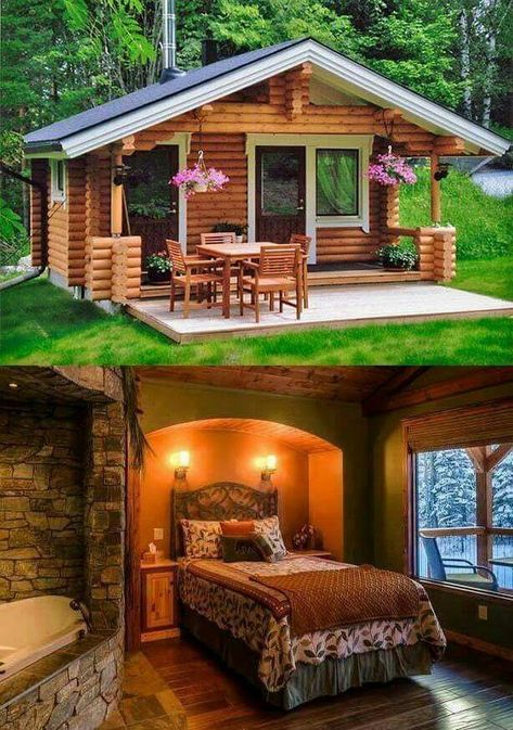 Picture of camp pinterest cabin homes log and house also rh