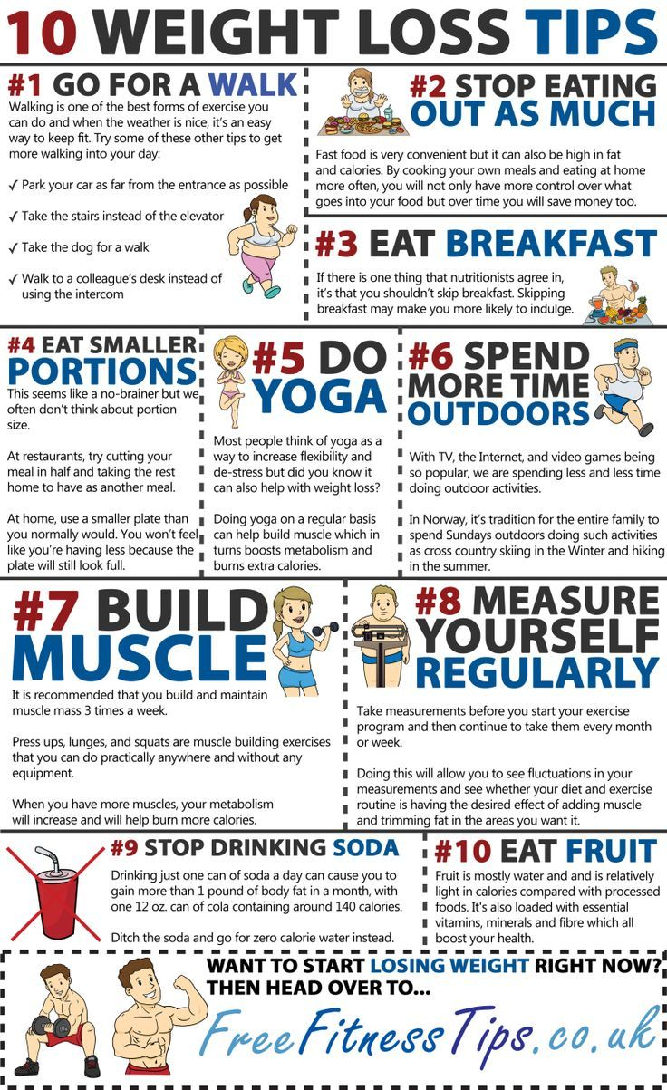 10 Weight Loss Tips Fitness And Exercise Fitness Motivation
