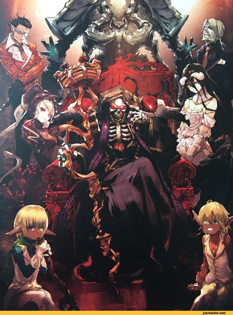 anime,art,beautiful pictures,SoBin,Ainz Ooal Gown,Albedo