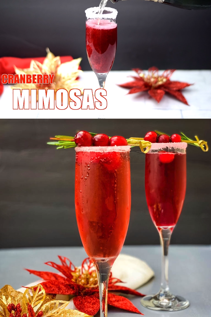 Photo of Easy Cranberry Mimosa
