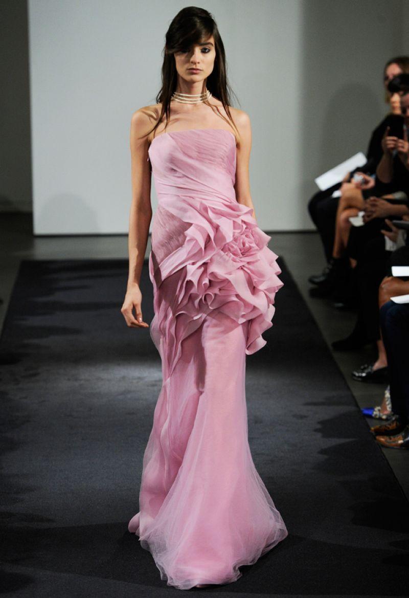 Vera Wang: Colectia rochiilor de mireasa pentru toamna 2014   Rochii ...