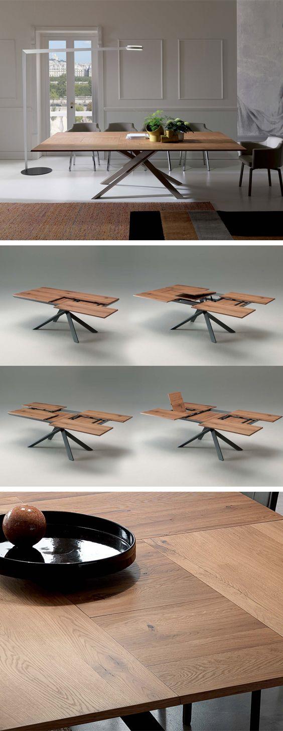 Ozzio Ausziehbarer Esstisch 4x4 T240 | U003eu003e Tische U003cu003c | Pinterest | Silvester  Feiern, Guten Rutsch Und Rutsche