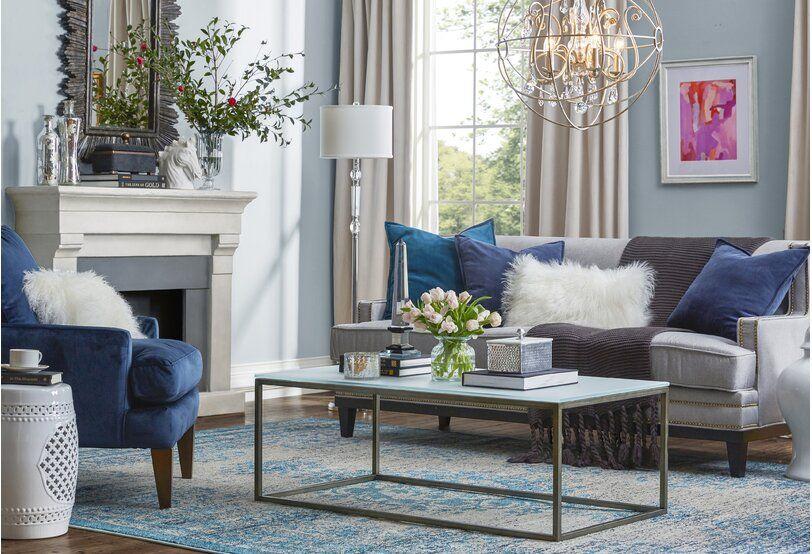 living room glam design ideas  wayfair  colorful living
