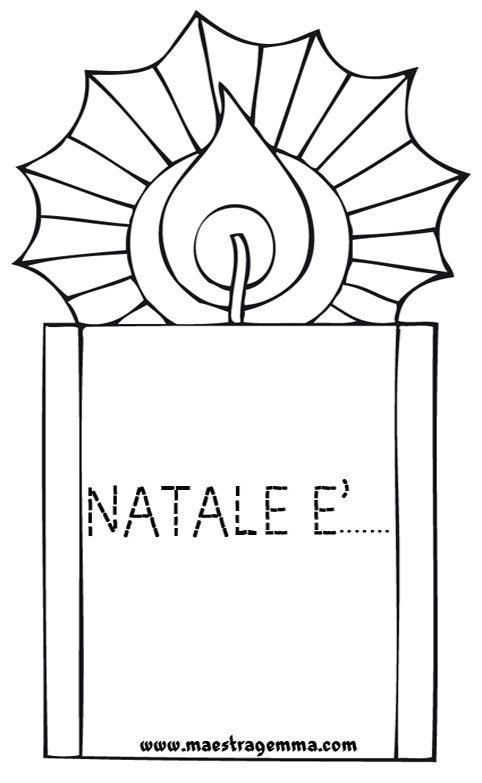 Schede di pregrafismo natale schede per scuola for Schede didattiche scuola dell infanzia da stampare natale