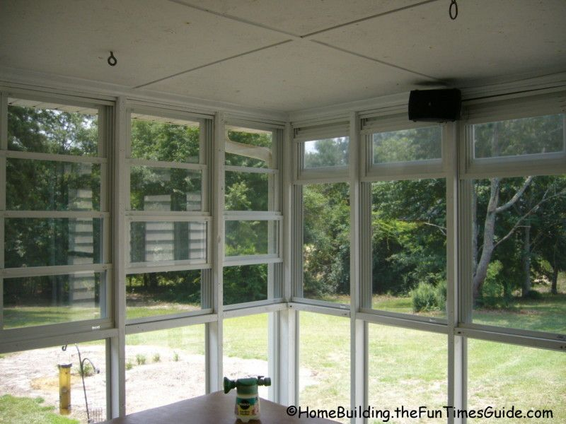 Eze Breeze Vinyl Screened Porch Windows A Clear Alternative To Glass Porch Windows Sunroom Windows Glass Porch Glass Porch Windows