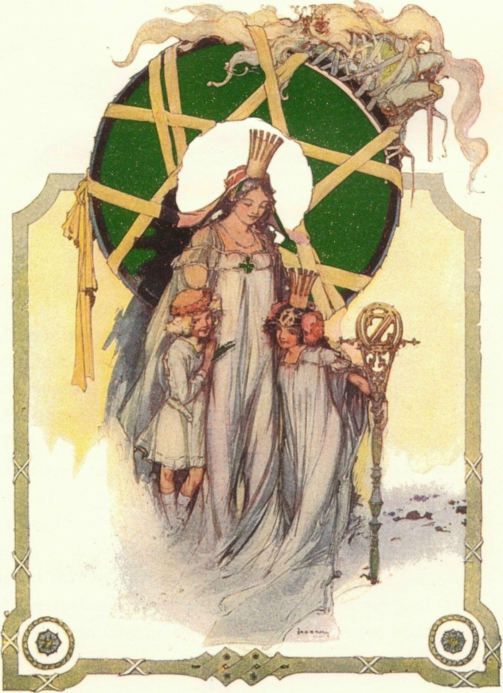 Glinda, Ozma And Dorothy After Saving Oz