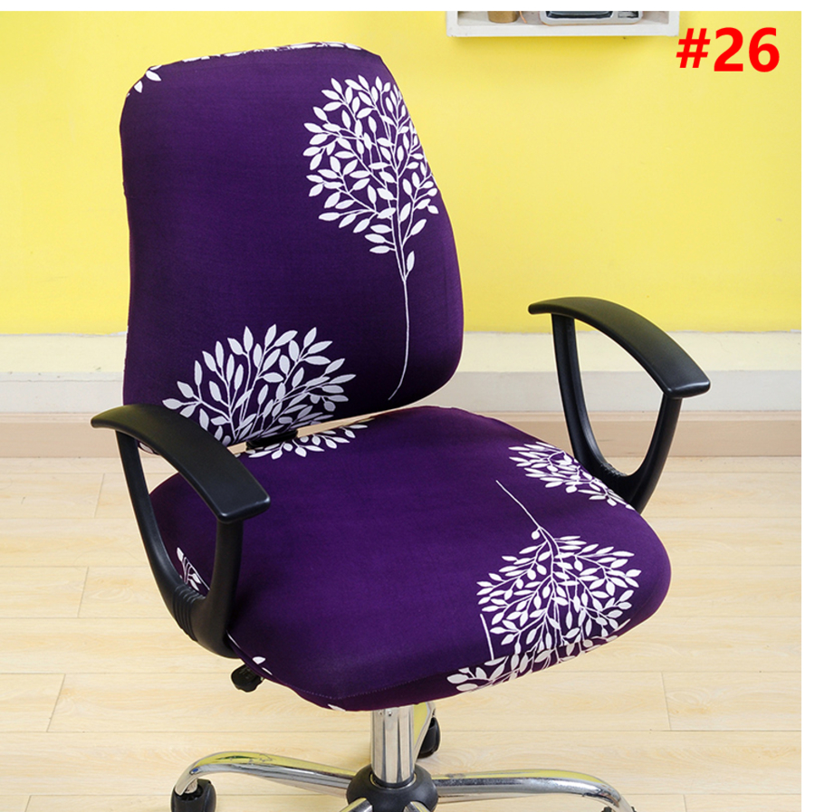 Office Chair Covers Removable Stretch Cushion Slipcovers