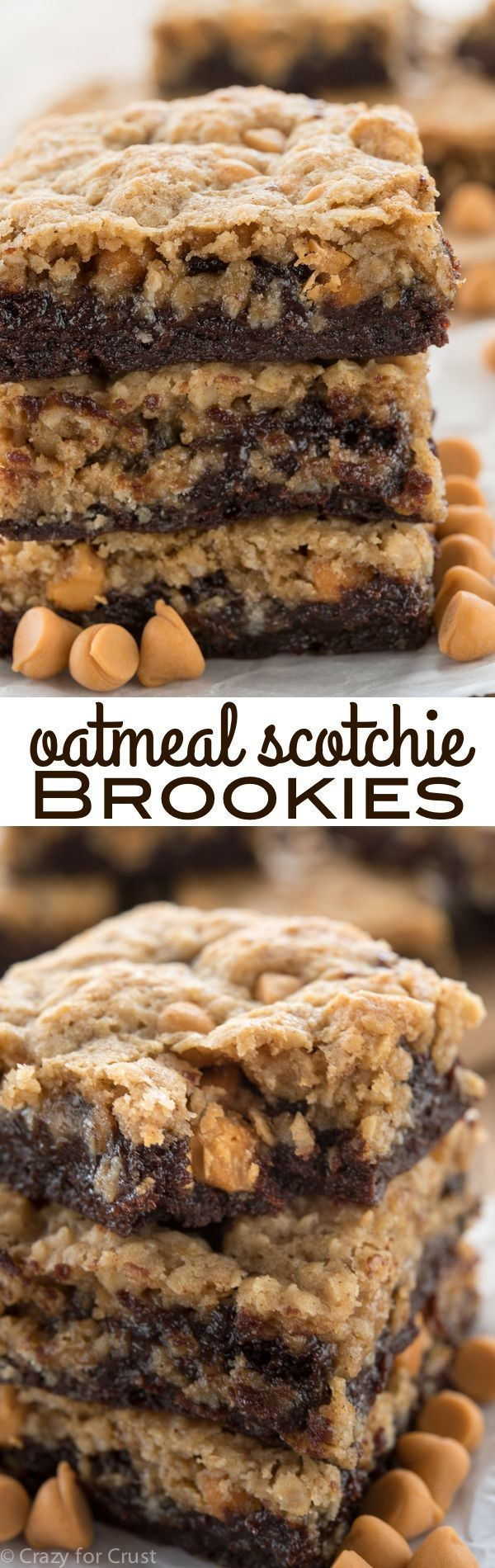 Photo of Oatmeal Scotchie Brookies – Crazy for Crust