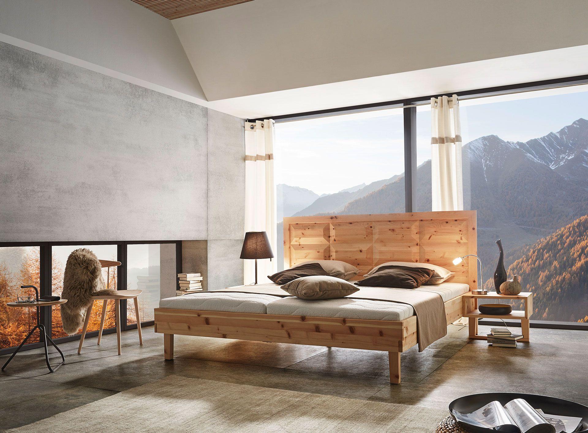 Ein natürlicher Blickfang: Zirbenbett Tyrol überzeugt mit seinem ...