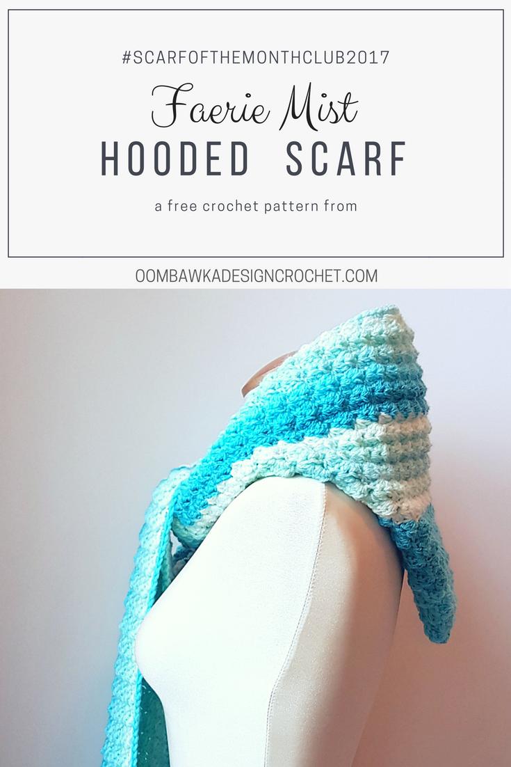 Faerie Mist Hooded Scarf Free Pattern | Pinterest | Tejido