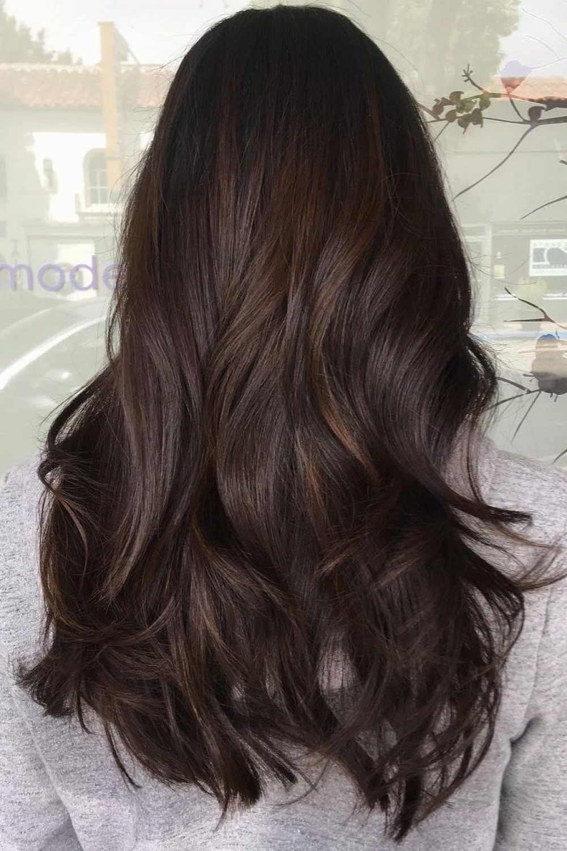 53 Cute Rich Brown Hair Color Ideas For Brunette Girls Rich Brown Hair Dark Chocolate Hair Color Rich Brown Hair Color