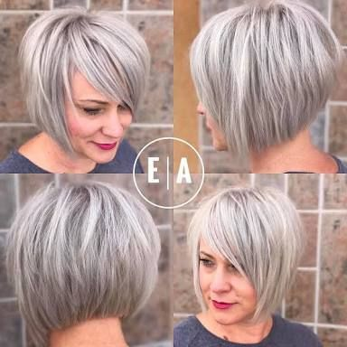 Image result for short silver hairstyles 2017 | Hair | Pinterest ...