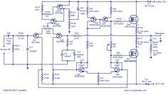 100w mosfet power amplifier circuit using irfp240 irfp9240 audio100w mosfet power amplifier circuit using irfp240 irfp9240
