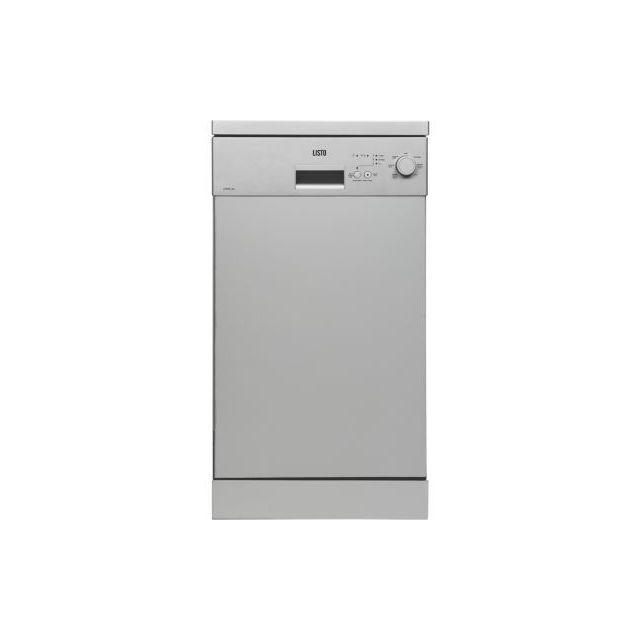 Listo Lave Vaisselle Compact 45cm Lvs49 L3 Silver Lave