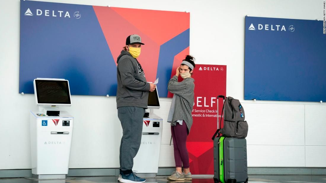 Delta Announces New Screenings For Passengers Who Can T Wear Masks