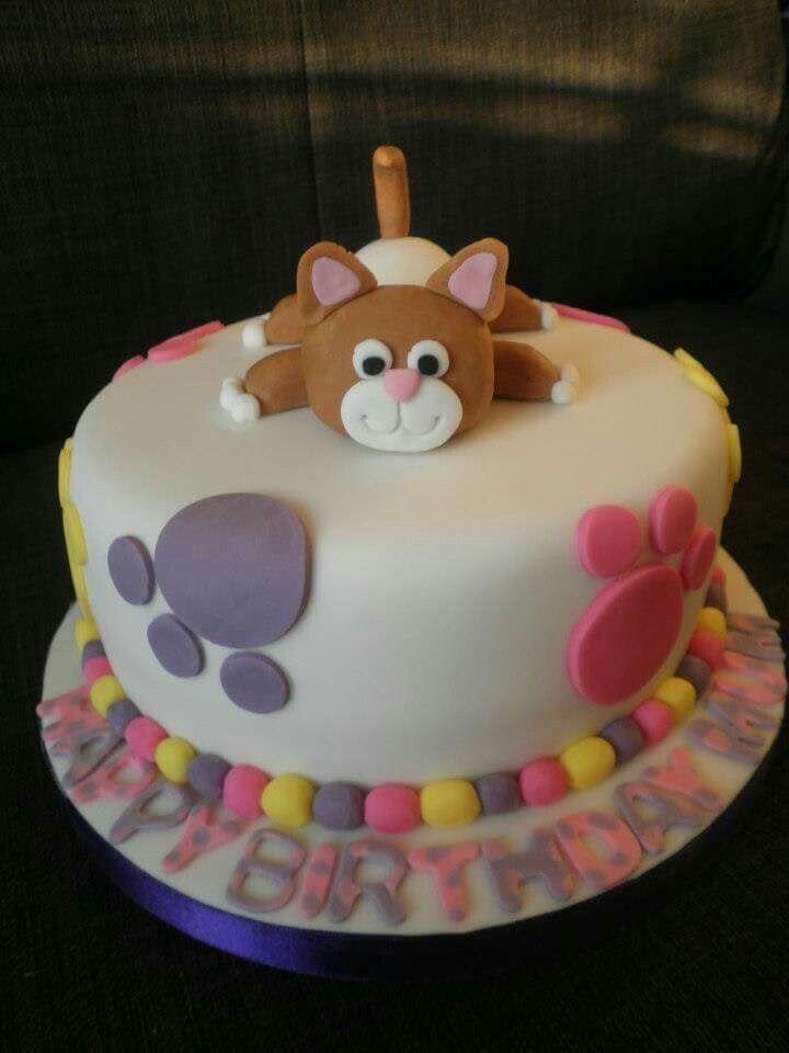 Cake Baby gatito Dulces postres y decoracin de cakes Pinterest