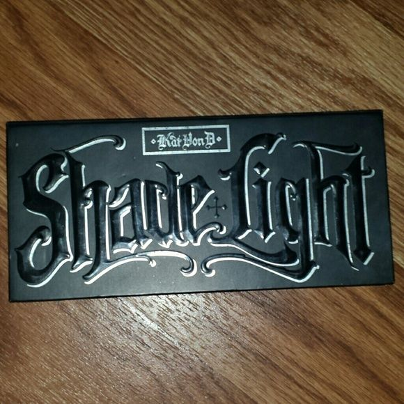 Kat von d Shade + Light palette I purchased this palette on posh.  I've only had it for like 2 weeks.  Not a huge fan of contouring as I thought I was. Kat Von D Makeup