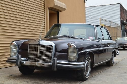 18596 1970 mercedes 280sel burgundy with tan interior for Prime motor cars mercedes benz