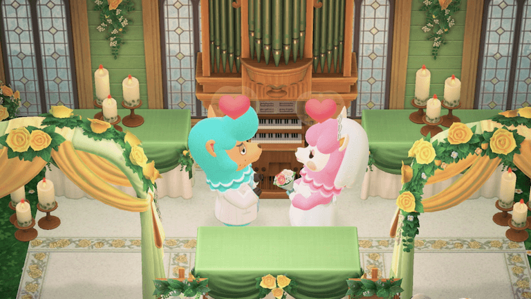 This Is A Guide To Wedding Season A Wedding Event In Animal Crossing New Horizons Acnh For The Nintendo S Head Table Wedding Wedding Season Animal Crossing