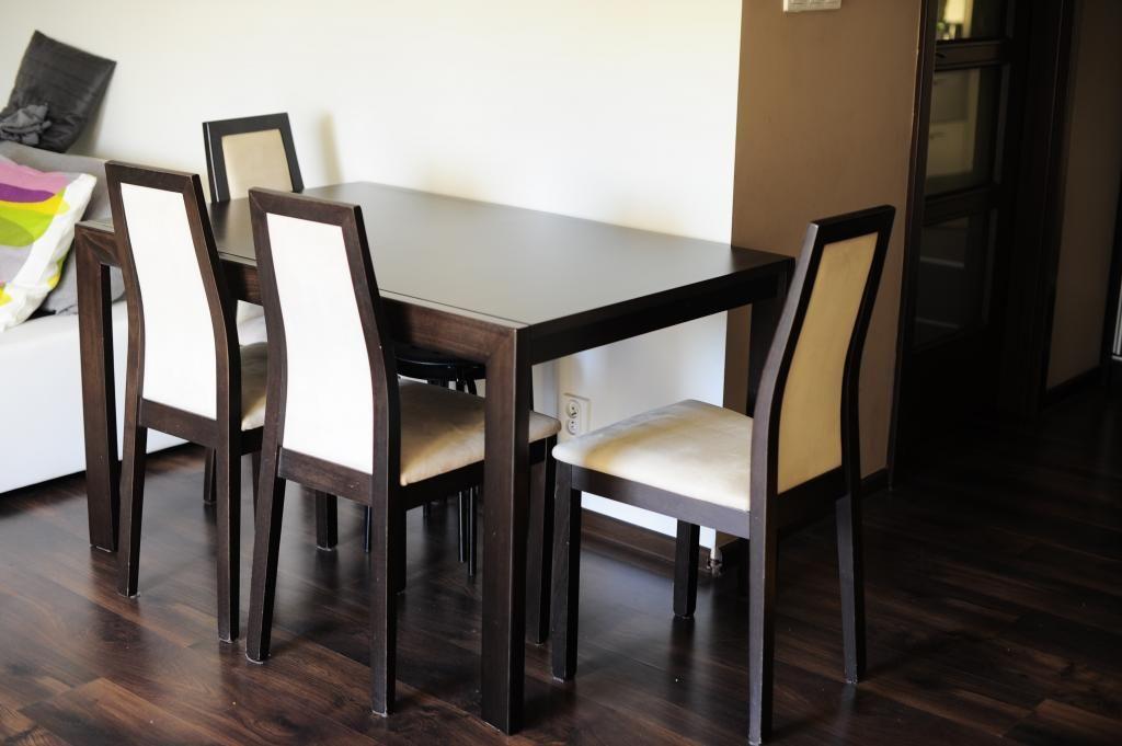 Stół Drewniany Rozsuwany 4 Krzesła Gdynia Balticinvest Pinterest