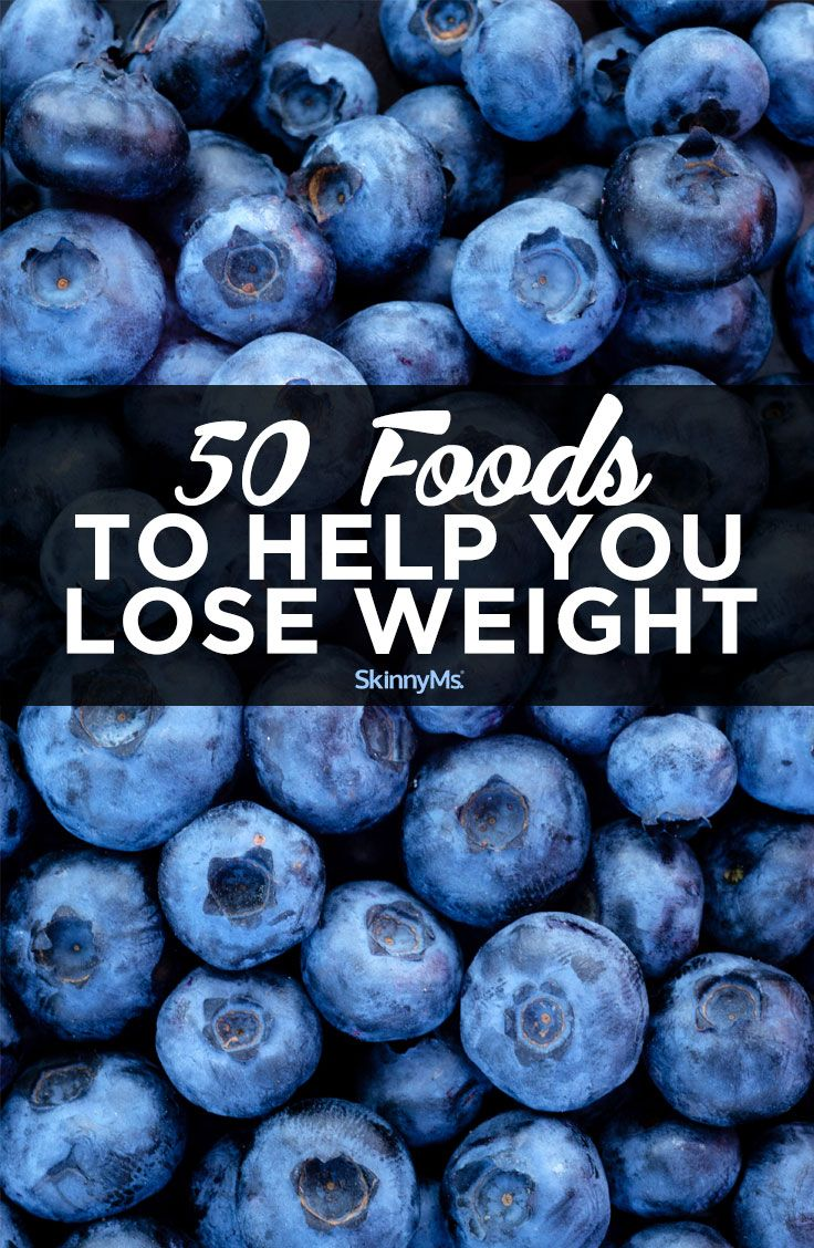 Add some - or all - of these 50 foods to your breakfast, lunch, or dinner meals and the extra pounds