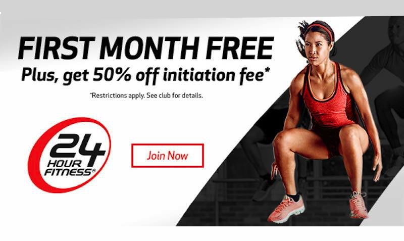 First Month Free 50 Off Initiation At 24 Hour Fitness Gym Edealo 24 Hour Fitness Gyms Gym Workouts 24 Hour Fitness