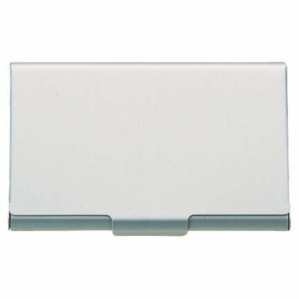 Muji Thin Aluminum Card Case Business Card Case Muji Card Case