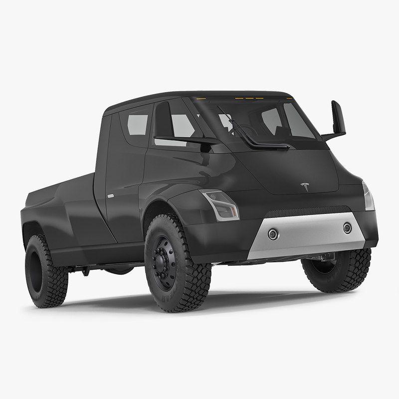Tesla Motors Images Tesla Model S Larson Sketches: 3D Tesla Pickup Electric Concept