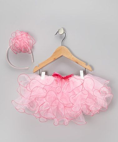86a65838d0 Take a look at this Pink & Fuchsia Tutu & Headband - Infant & Toddler by Sparkle  Adventure on @zulily today!