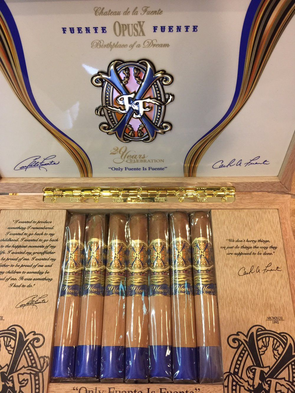 Opus X 20th Anniversary Is Now At K S K S Cigars Cigars Cigars And Whiskey Good Cigars