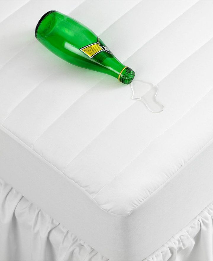 Lovely Home Design King Mattress Pad Part - 14: Home Design Waterproof King Mattress Pad, Down Alternative Fiber Fill,  Created For Macyu0027s - White   Mattress Pad And Products