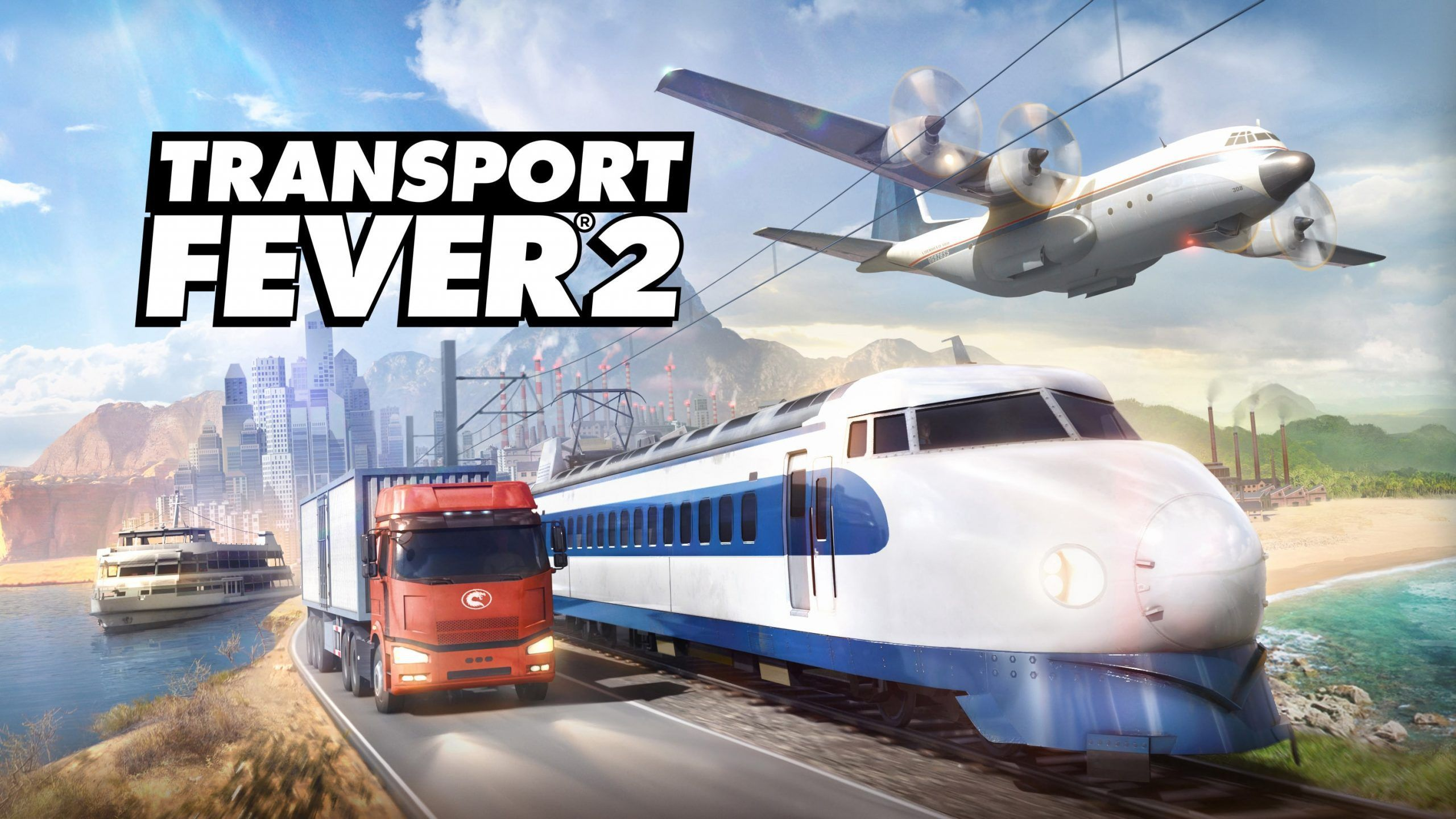 Transport Fever 2, the next great tycoon simulation game